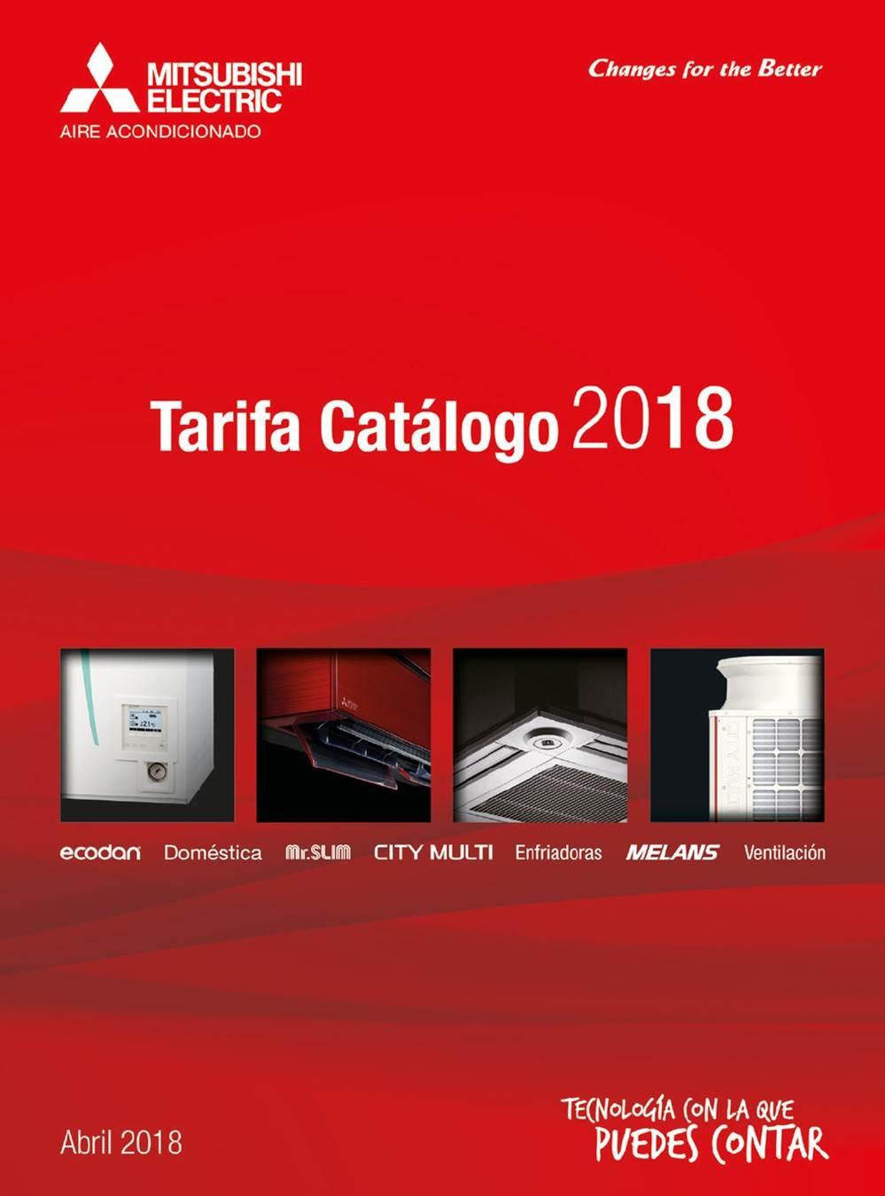 Catalogo Mitsubishi 2018