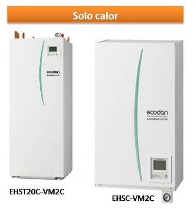 EHSCT20C-VM2C y EHSC-VM2CA
