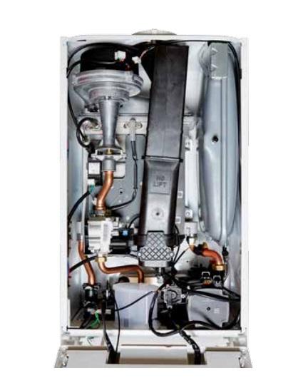 Caldera a gas de condensación Thermor LOGIC - Interior