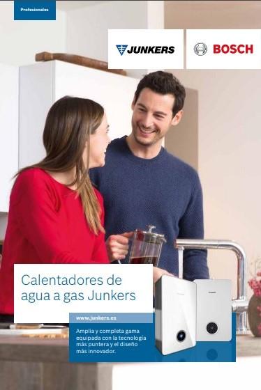 catalogo calentadores de agua a gas junkers