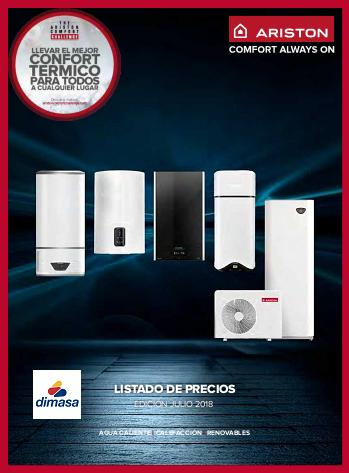 Catalogo tarifa Ariston 2018