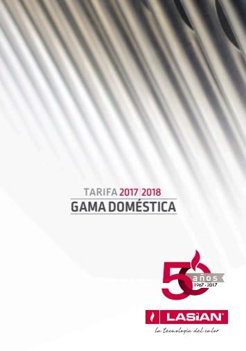 Catalogo tarifa Lasian 2017-2018