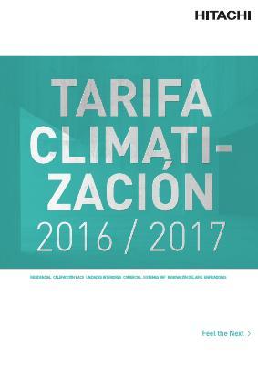 Catalogo tarifa Hitachi 2016-2017