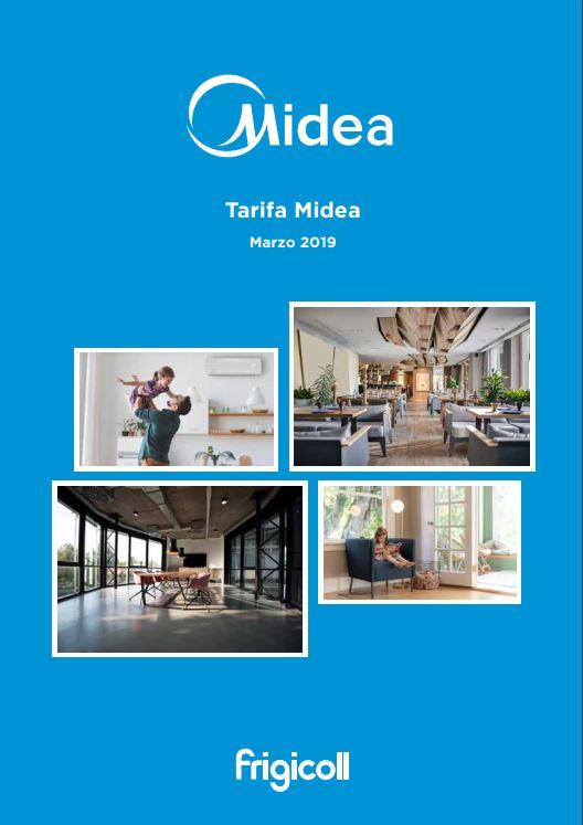 Tarifa Midea 2019