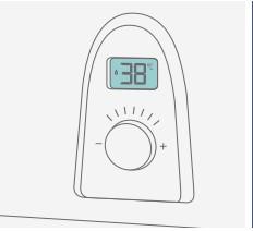 calentador thermor top sealed display