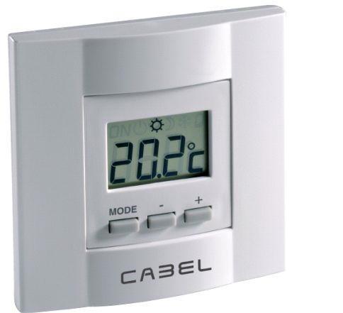 Termostato filar CABEL frío calor