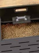 Estufas de pellets Lasian AUDAX - Depósito