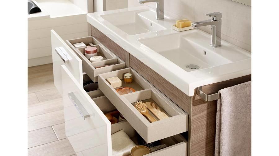 Muebles de ba o roca mueble de ba o roca prisma de - Muebles para el lavabo ...